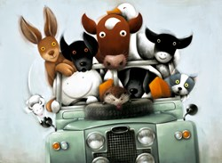 Overloaded with Love by Doug Hyde - Limited Edition on Paper sized 26x19 inches. Available from Whitewall Galleries